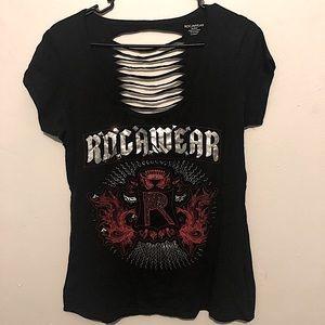 Rocawear shirt with slashed back sz XL